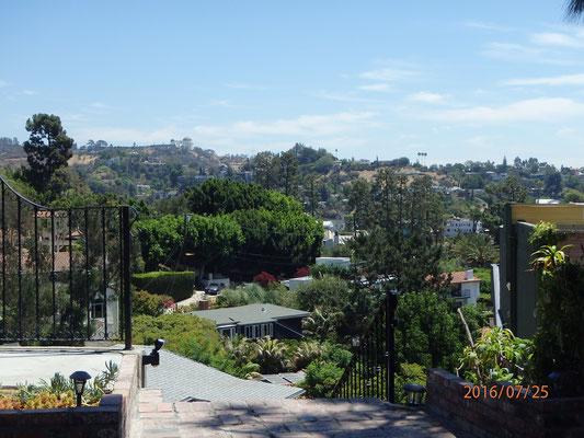Blick von Beverly Hill