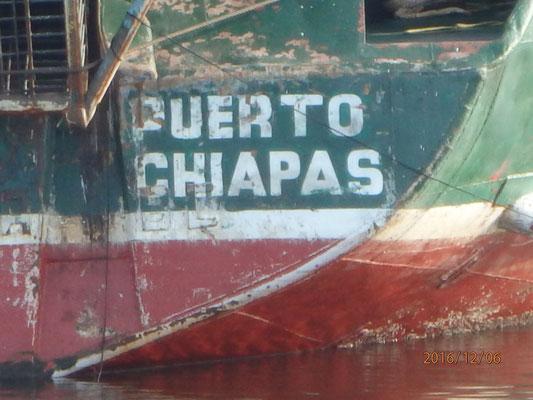 ...auf dem Weg nach Balboa Panama Stop in Chiapas Südmexico