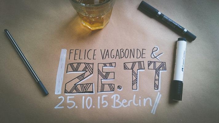 Illustratorin Felice Vagabonde @Ze.tt Hauptquartier, Berlin