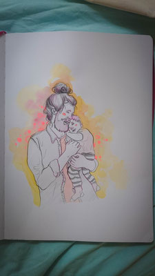 Tag 67: Illustrationen - Dad | Kinder-Illustration aus Hamburg!