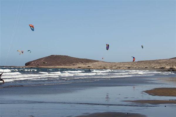 Paragliding in El Medano