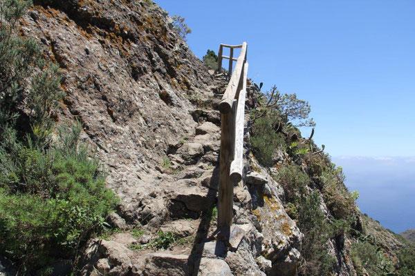 Abstieg nach Chamorga