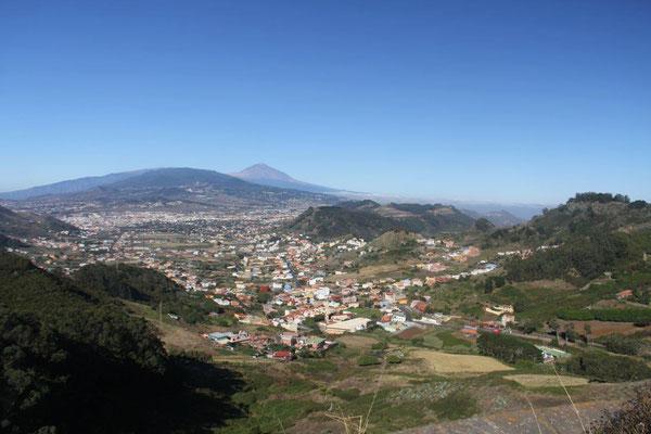 Blick auf La Laguna