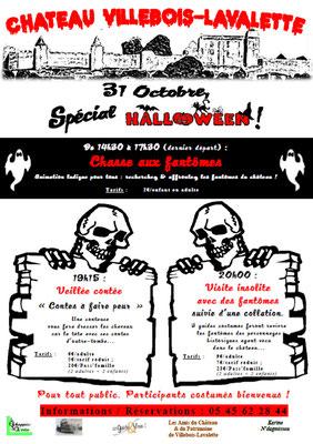 Halloween au Château (annulé Covid, mais reviendra aussi !)