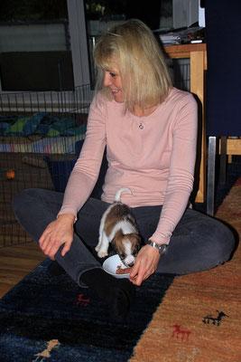 05.01.2019 - 43. Lebenstag: Elke mit Charlie