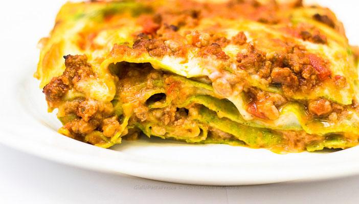 lasagne alla bolognese 13€/kg