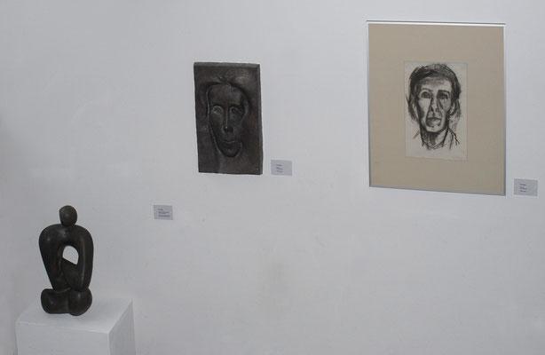 Drei Objekte von Eva Zippelim Treppenhaus der GEDOK (#1337)