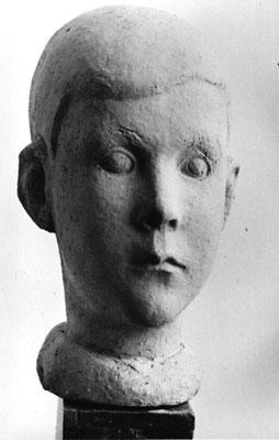 Porträt Kind Hoover, Terrakotta, 1946 (0002)