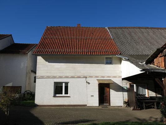 Haus von der Hofseite gesehen
