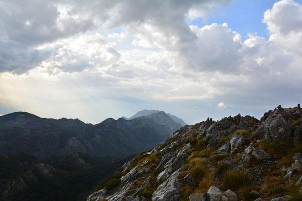 der Sveti Jure im Biokovo Gebirge, Kroatien