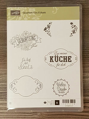"STempelset ""Quartett fürs Etikett"""