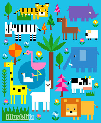 Illustration  イラストレーション Adobe Illustrator(アドビイラストレーター)