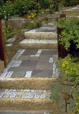 Treppen - gArten und Stein ökologische Gartengestaltung Bremen
