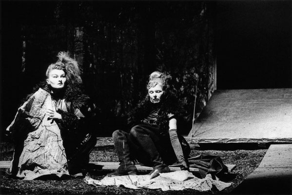 "Regan in ""König Lear"", 1996 © Bettina Frenzel"