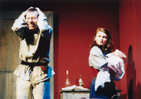 "Marie in ""Woyzeck"", 2000 © Bettina Frenzel"