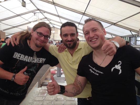 Mark, Giorgio& Dave