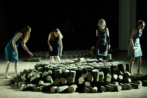 Probenfoto von Daniela Incoronato - Deborah Kaufmann, Gabi Herz, Jule Gruner, Gina Henkel