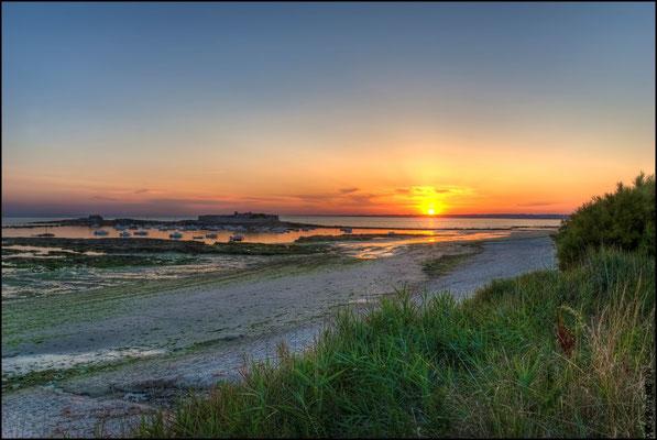 coucher de soleil sur Fort Bloqué