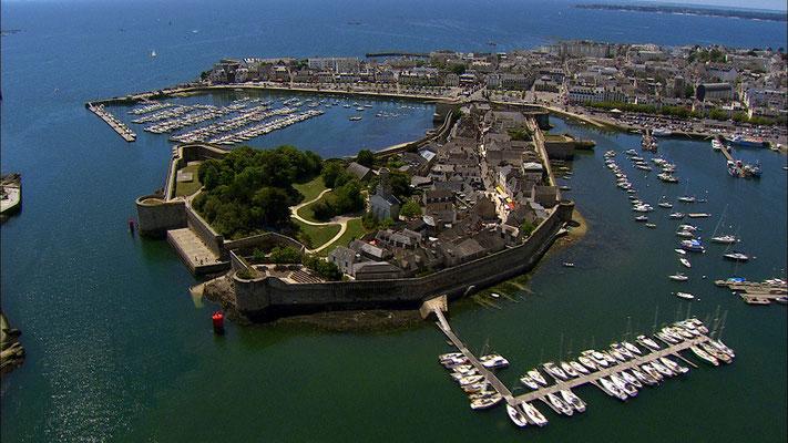 Les fortifications de Concarneau