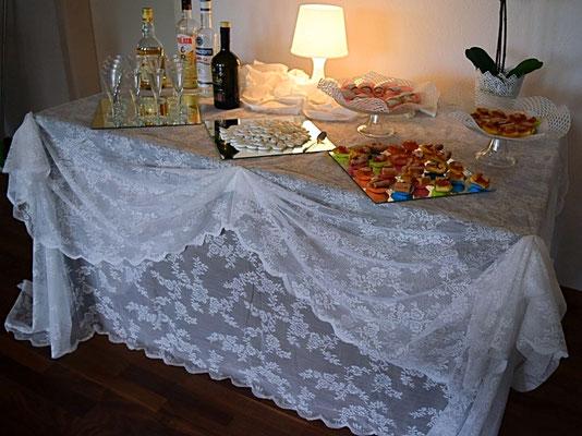 Hochzeitsdeko + Desserts