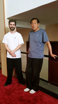 Avec Me Wang Xi'an à Yun Tai Shan