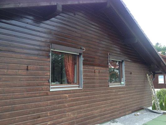 Holzschalung Auffrischung