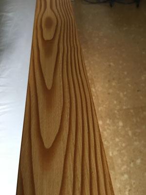 Holzinterpretationstechnik, Nadelholz rustikal
