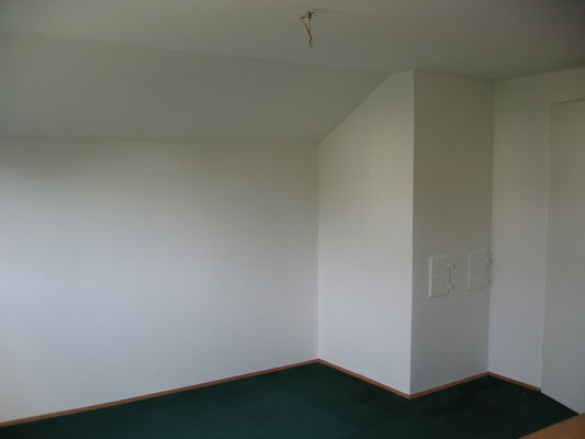 Beschichtung Wandfarbe weiß, alles wie neu... als wäre nie was gewesen