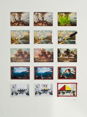 """collectiv work """"Stille Post"""" © Anette Friedel-Prenninger 2015"""