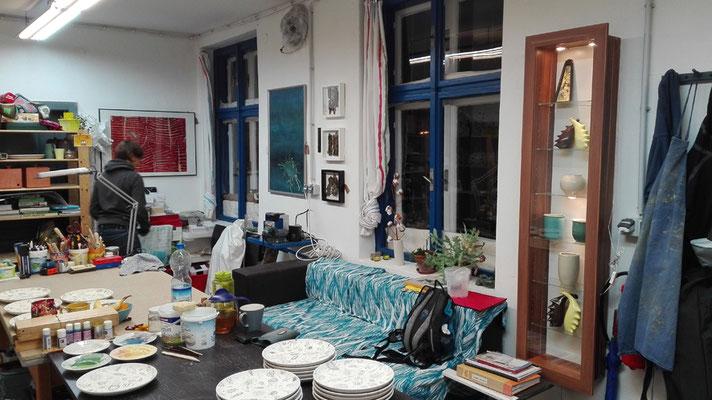 atelier lesa von Innen / atelier lesa from inside  © Juliane Leitner 2016