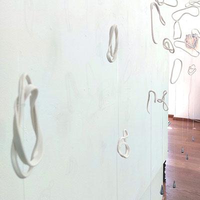 Detail der Kunstinstallation Hang Loose © 2021 Juliane Leitner
