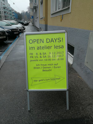 OPEN DAYS atelier lesa © 8.12.2017 Juliane Leitner