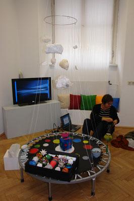 """Herausnahmezustand; """"Kunst.Sprung""""; may 2009; © Juliane Leitner"""