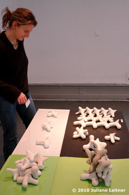 There's one hitch!; module out of porcelain; feb.2010; © Juliane Leitner