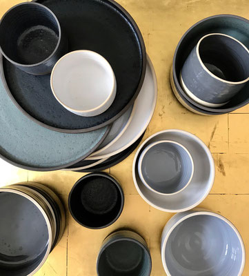 Keramiken geschaffen von Bernhard Schmotzer
