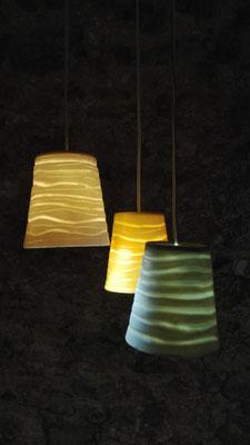 lucerna calix [Becherlampe]; Porzellan bei 1240°C gebr. | lucerna calix [cup lamp];porcelain fired by 1240°C © 2017 created by Juliane Leitner
