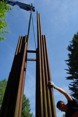 Windorgel [Stahlskulptur] 2020 © Markus Treml