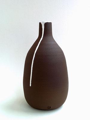 Vase Tropfen Weiß geschaffen von Bernhard Schmotzer