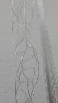 Verknüpfung von 40 - 50 Glasfasern zu einer Helixstruktur © Juliane Leitner 2016
