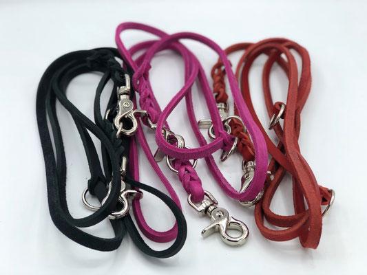 schwarz, pink, rot 8mm breite