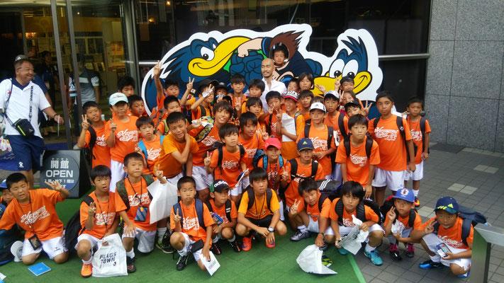 日本サッカーミュージアムにて