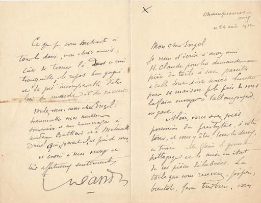 Charles LÉANDRE (1862-1934) chanteur chanson habitation CD Galerie achat vente