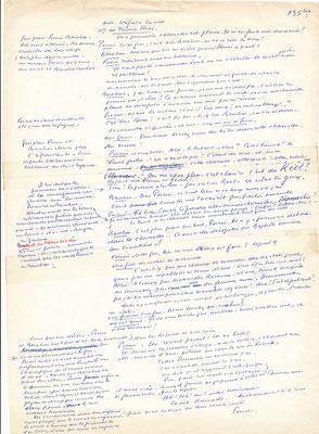 Abel GANCE (1889-1981) cinéma manuscrit autographe signé