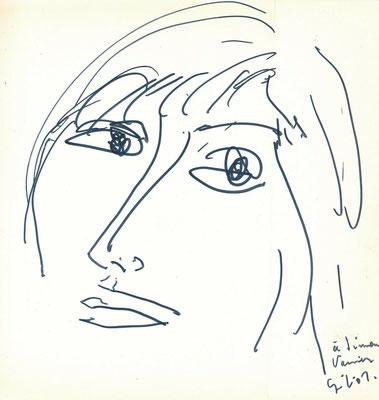 Emile Gilioli, dessin