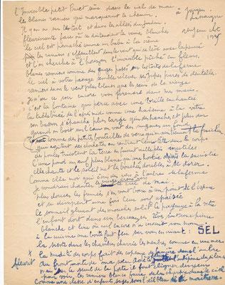 René Jean Clot correspondance autographe Afrique