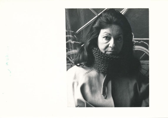 Ruth FRANCKEN (1924-2006), artiste américaine d'origine tchèque  photo photographie Kalter