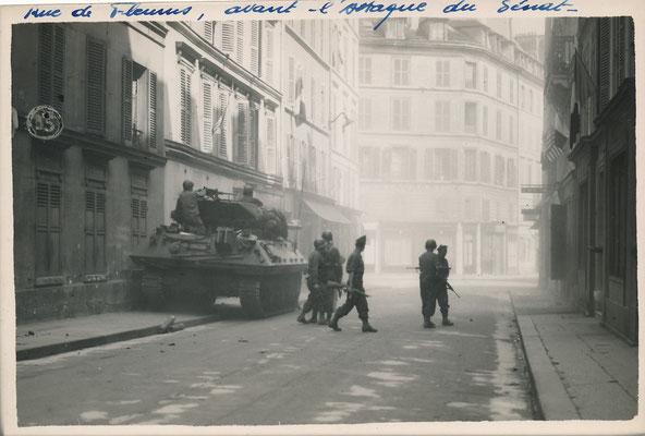 Libération de Paris Luxembourg tirage argentique d'époque achat vente photos CD Galerie