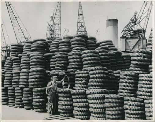 Guerre du Pacifique, Anvers 1945