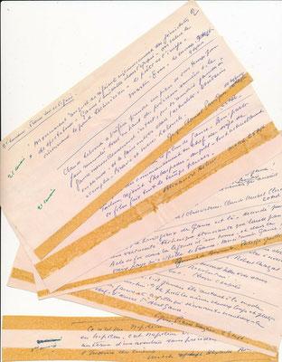 Abel Gance autographe