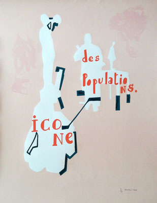 Jean-Michel Alberola lithographie